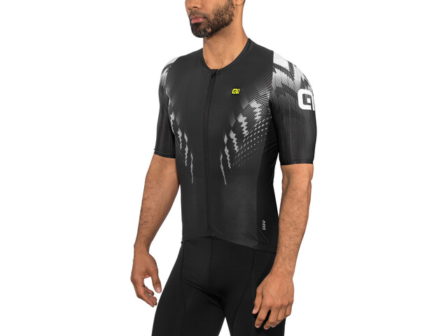 Alé Cycling R-EV1 Pro Race Shortsleeve Jersey Herren black-white